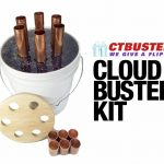 Cloudbuster base kit comes without pipe extensions